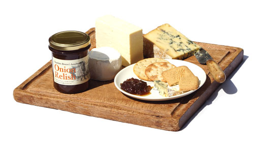 Onion Relish with Cheese