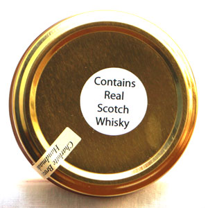 Contains real scotch whisky